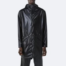 Rains Long Jacket 1202 SHINY BLACK