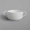 Rak Banquet porcelán leveses csésze két füllel, 30 cl, BACS30