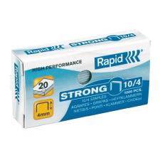 """Rapid Tűzőkapocs, 10/4, horganyzott, RAPID """"Strong"""" gemkapocs, tűzőkapocs"""