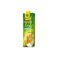 """Rauch Gyümölcslé, 100%, 1l,  """"Happy day"""", alma mild üdítő, ásványviz, gyümölcslé"""