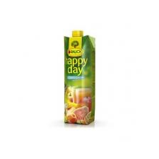 """Rauch Gyümölcslé, 100%, 1l,  """"Happy day"""", multivitamin mild üdítő, ásványviz, gyümölcslé"""