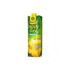 """Rauch Gyümölcslé, 100%, 1l,  """"Happy day"""", narancs mild C vitaminnal üdítő, ásványviz, gyümölcslé"""