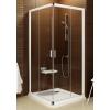 Ravak Blix sarokbelépős zuhanykabin BLRV2K-100 fehér + transparent