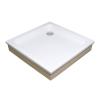 Ravak Kaskada Angela 80 EX négyzet alakú akril zuhanytálca (A004401320)