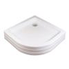 Ravak Kaskada Ronda 90 PU negyedköríves akril zuhanytálca (A207001120)