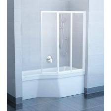 Ravak VS3 100 Fehér+Transparent kádparaván kád, zuhanykabin