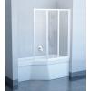 Ravak VS3 115 Fehér+Transparent kádparaván