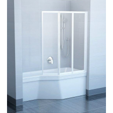 Ravak VS3 115 Fehér+Transparent kádparaván kád, zuhanykabin