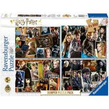 Ravensburger 068326 Harry Potter szett 4x100 darab puzzle, kirakós