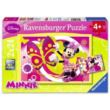 Ravensburger Ravensburger: Minnie egér 2x24 darabos puzzle puzzle, kirakós