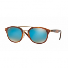 Ray-Ban RB2183 1128B7 TOP HAVANA BROWN/HONEY MIRROR BLUE napszemüveg