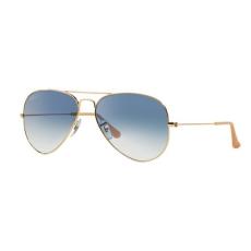 Ray-Ban RB3025 001/3F AVIATOR GOLD CRYSTAL GRADIENT LIGHT BLUE napszemüveg