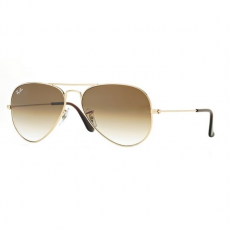 Ray-Ban RB3025 001/51 AVIATOR GOLD CRYSTAL BROWN GRADIENT napszemüveg