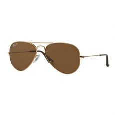 Ray-Ban RB3025 001/57 AVIATOR GOLD CRYSTAL BROWN POLARIZED napszemüveg