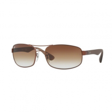 Ray-Ban RB3445 012/13 MATTE BROWN BROWN GRADIENT napszemüveg