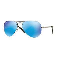Ray-Ban RB3449 004/55 GUNMETAL LIGHT GREEN MIRROR BLUE napszemüveg