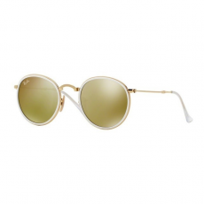 Ray-Ban RB3517 001/93 ROUND GOLD BROWN MIRROR GOLD napszemüveg