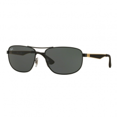 Ray-Ban RB3528 191/71 MATTE BLACK DARK GREEN napszemüveg
