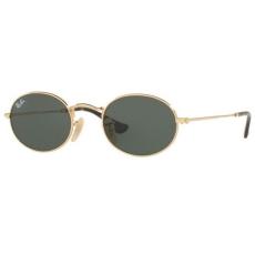 Ray-Ban RB3547N 001 OVAL GOLD GREEN napszemüveg