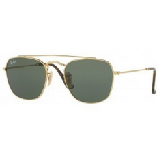 Ray-Ban RB3557 001 GOLD GREEN napszemüveg