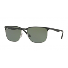 Ray-Ban RB3569 90049A SILVER TOP SHINY BLACK DARK GREEN POLAR napszemüveg