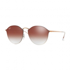 Ray-Ban RB3574N 9035V0 BLAZE ROUND COPPER CLEAR GRADIENT RED MIRROR RED napszemüveg