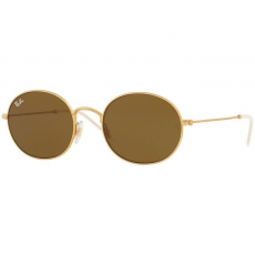 Ray-Ban RB3594 901373 RUBBER GOLD DARK BROWN napszemüveg