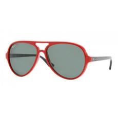 Ray-Ban RB4125 730 CATS 5000 RED CRYSTAL GREEN napszemüveg (utolsó darab)