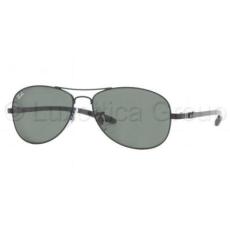 Ray-Ban RB8301 002 BLACK CRYSTAL GREEN napszemüveg