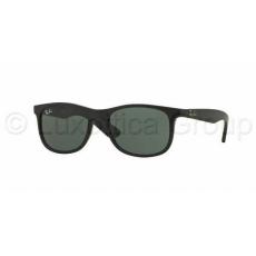 Ray-Ban RJ9062S 701371 MATTE BLACK DARK GREEN gyermek napszemüveg