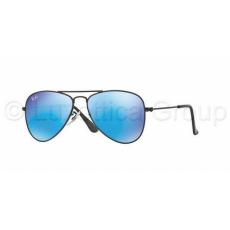 Ray-Ban RJ9506S 201/55 MATTE BLACK BLUE MIRROR gyermek napszemüveg