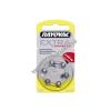 Rayovac Extra Advanced hallókészülék elem típus 10 6db/csom (10AU-6XE)
