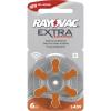 Rayovac hallókészülék elem ZA13, H13MF 6db/bliszter