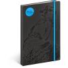 REALSYSTEM Design notesz - Alphonse Mucha– Topaz, lined, 13 x 21 cm