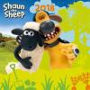 REALSYSTEM Falinaptár 2018 - Shaun the Sheep 2018, 30 x 30 cm