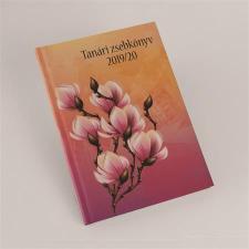 REALSYSTEM Tanári zsebkönyv, A5, heti, , magnólia naptár, kalendárium