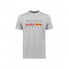 Red Bull Racing F1 Team Red Bull Racing fĂŠrfi póló Large Logo grey 2018 - L