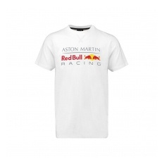 Red Bull Racing F1 Team Red Bull Racing fĂŠrfi póló Large Logo white 2018 - L