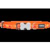 Red Dingo Design Breezy Love Orange kutyanyakörv 15 mm x 24-37 cm