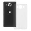 Redneck Microsoft Lumia 950 TPU Flexi hátlap, tok, átlátszó