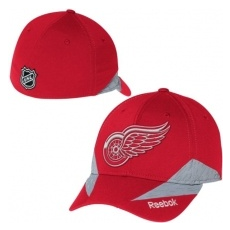 Reebok Detroit Red Wings baseball sapka red Center Ice Practice 2015 - L/XL