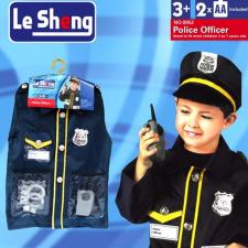 Rendőr jelmez - 3-7 éves korig jelmez
