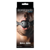 Renegade Bondage Ball Gag Black - Szájpecek
