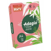 """REY Másolópapír, színes, A4, 80 g, REY """"Adagio"""", neon málna"""