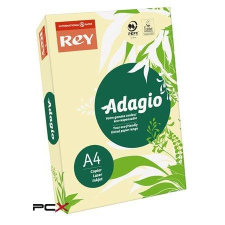 """REY Másolópapír, színes, A4, 80 g, REY """"Adagio"""", pasztell sárga fénymásolópapír"""