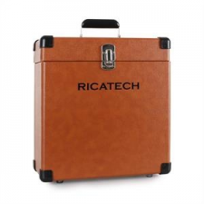 Ricatech RC0042, koffer lemezekre, barna dj felszerelés