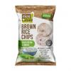 Rice Up Barnarizs chips, 60 g, , hagymás-tejfölös