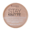 Rimmel London - Stay Matte Long Lasting Pressed Powder Női dekoratív kozmetikum 002 Pink Blossom Smink 14g