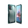 Ringke Xiaomi Redmi Note 10/Note 10S ütésálló hátlap - Ringke Fusion X - turquoise green