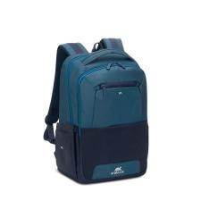 """RivaCase Notebook hátizsák, 15,6"""",  """"Suzuka 7767"""", acélkék-akvamarin kézitáska és bőrönd"""